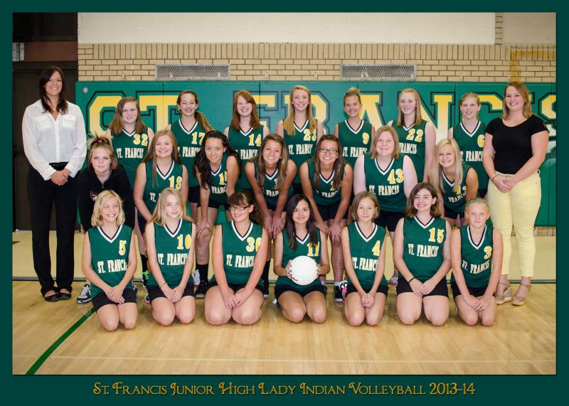 of twenty volleyball